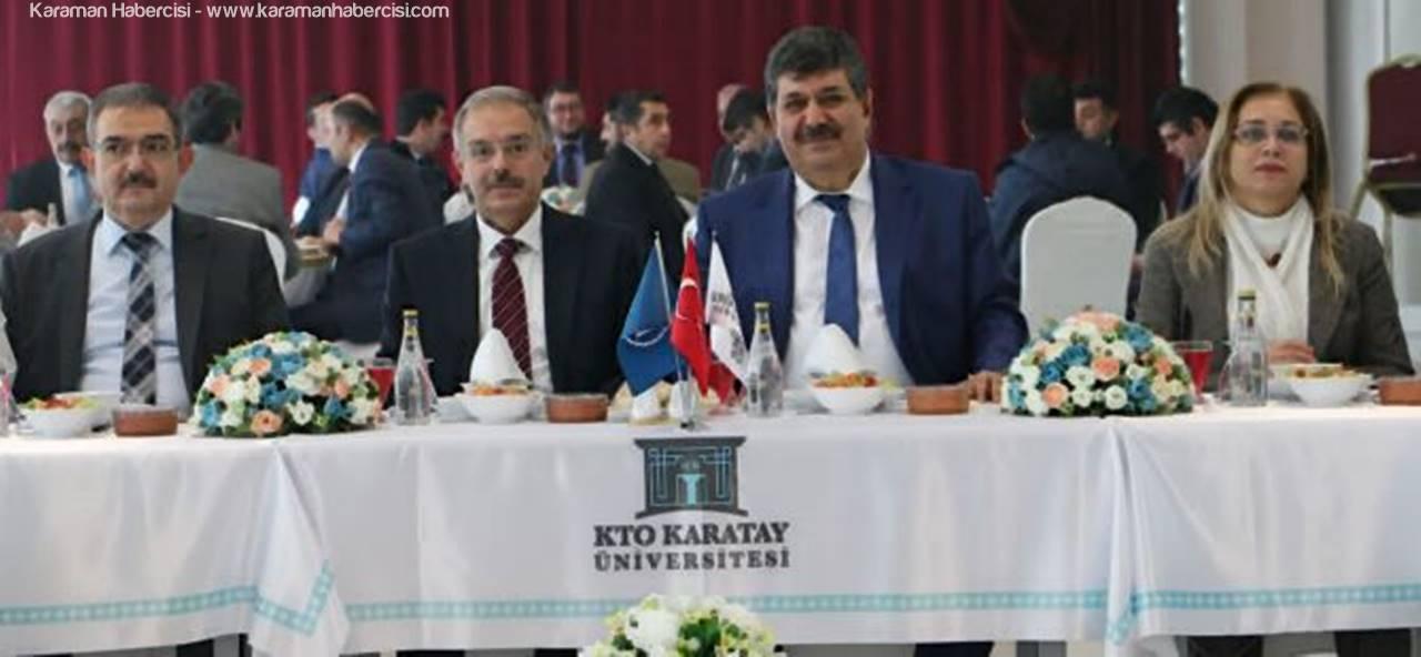Karaman KMÜ Görevi Konya KTO Karatay Üniversitesi'ne Devretti