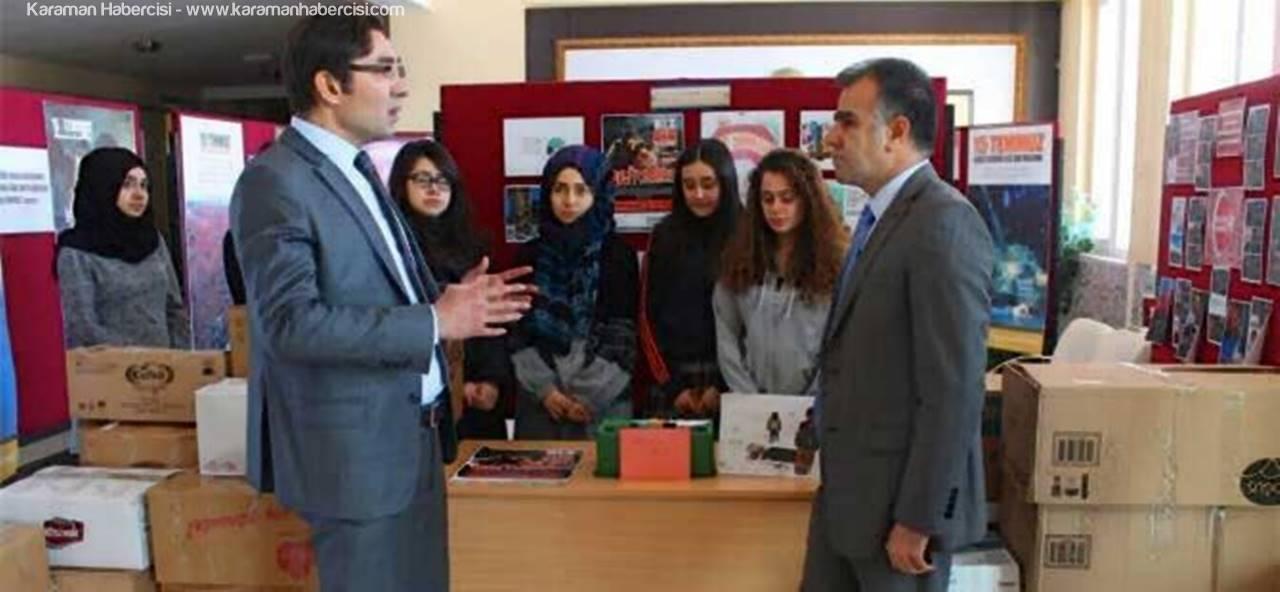 Karaman'dan Mardin'e Yardım Kolileri Yola Çıkıyor