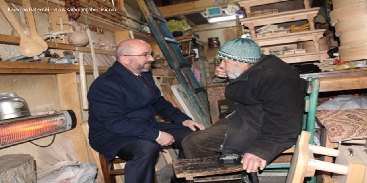 """AK Parti Belediye Başkan Adayı Sami Şahin """"Arasta Kültürü""""nü Karaman'a Kazandıracağız"""