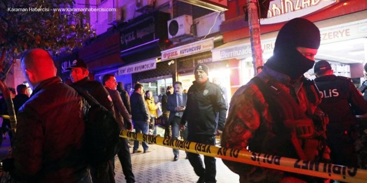 Mersin'de Kanlı Soyguna İlişkin 1 Polis Gözaltına Alındı