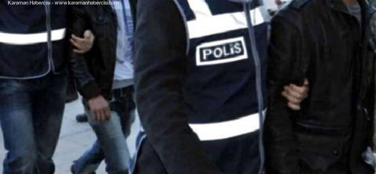 Karaman'da Kasa Hırsızı Üç Kişi Tutuklandı