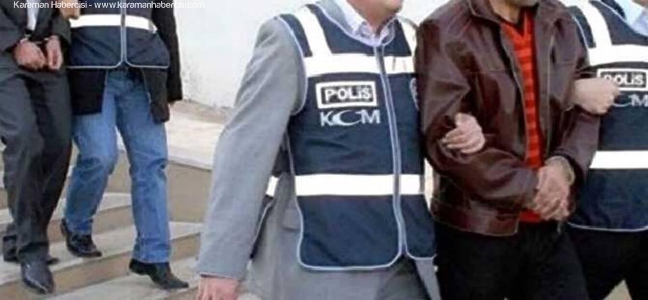 Konya'da Yaşanan Silahlı Kavgada Tutuklama