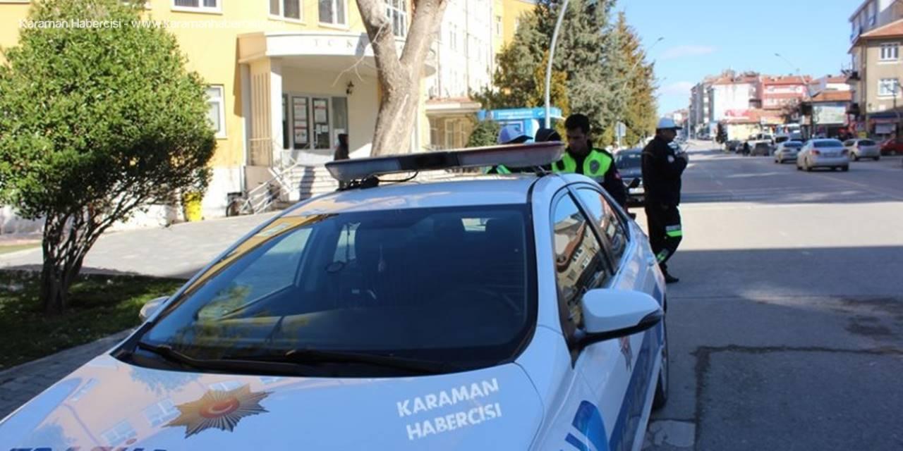 Karaman'da Motosikletler Üzerine Trafik Uygulamaları