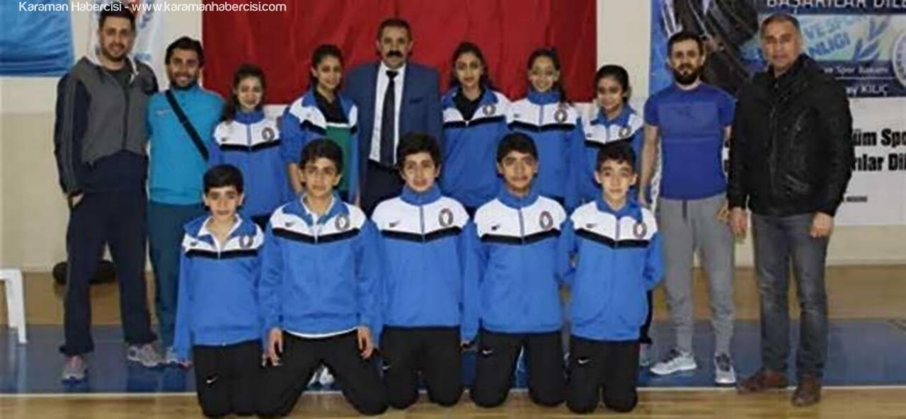Karaman'da Badminton Heyecanı Başladı