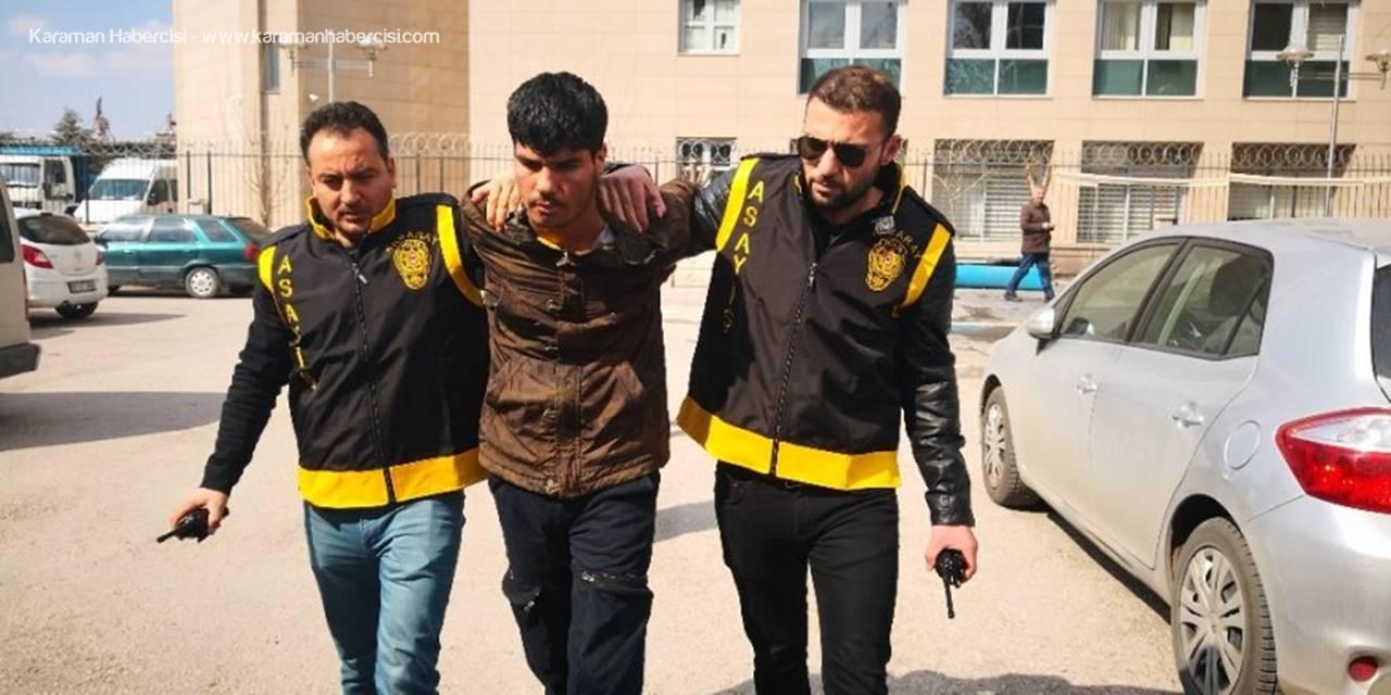Aksaray'da Cinayet Şüphelisi Afgan Tutuklandı