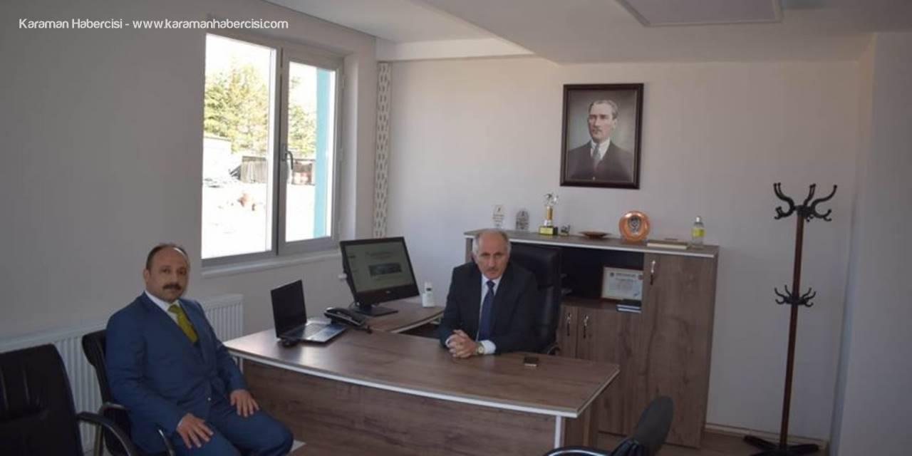 DSİ Karaman Şube Müdürlüğüne Ziyaret