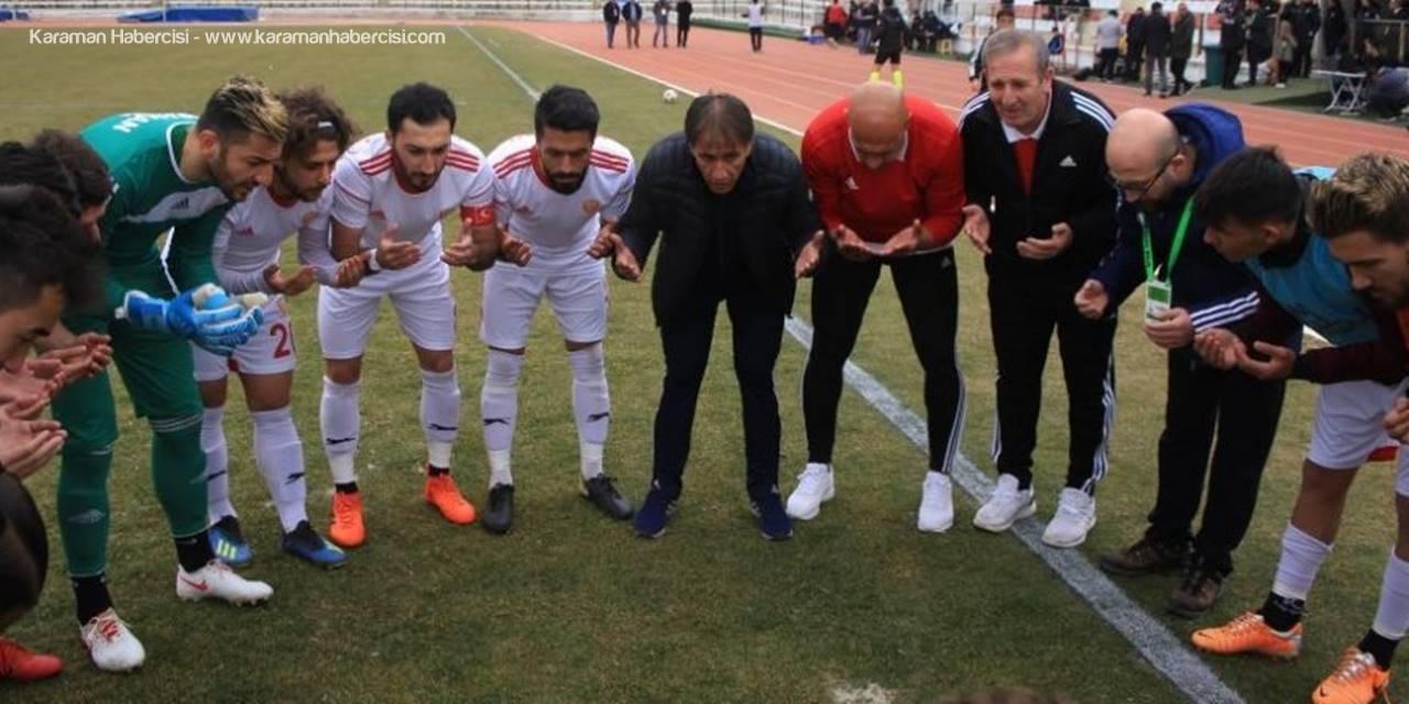 Karaman Belediye Spor Kendi Sahasında Karapınar BelediyeSpor'u Ağırlayacak