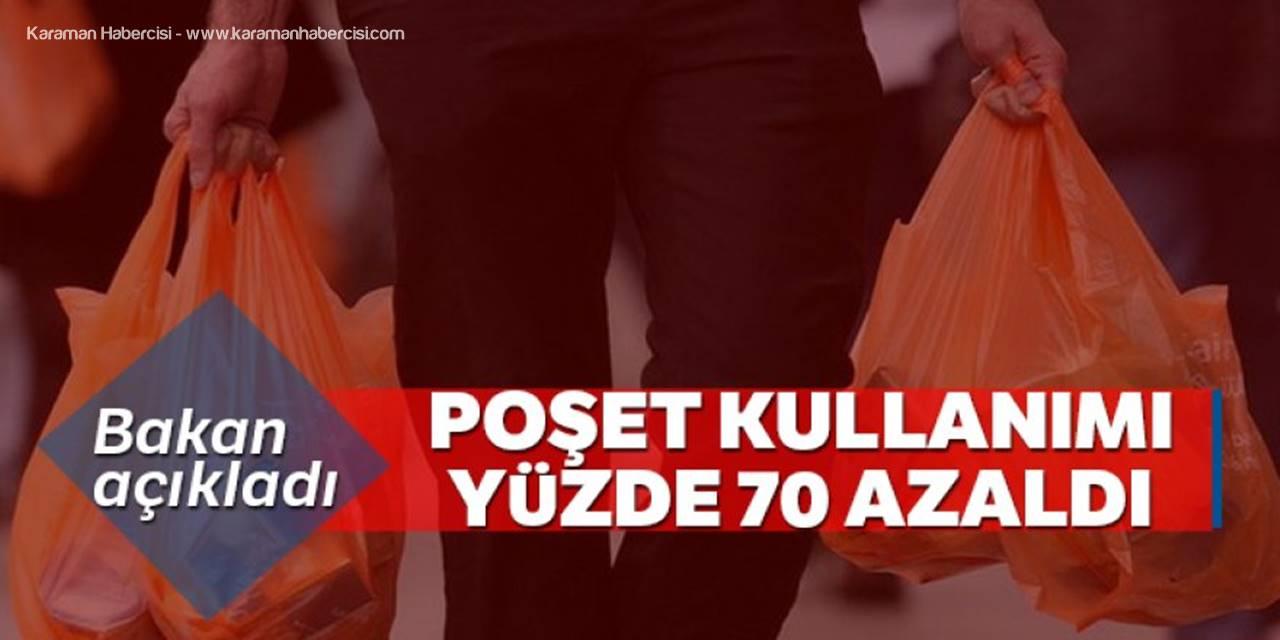 Bakan Kurum: 'Poşet Kullanımı Yüzde 70 Azaldı'