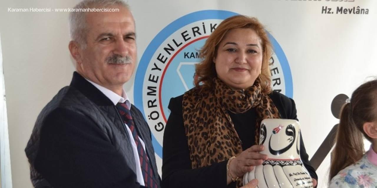 Konya Valisinin Eşi Yılın Kadını Seçildi