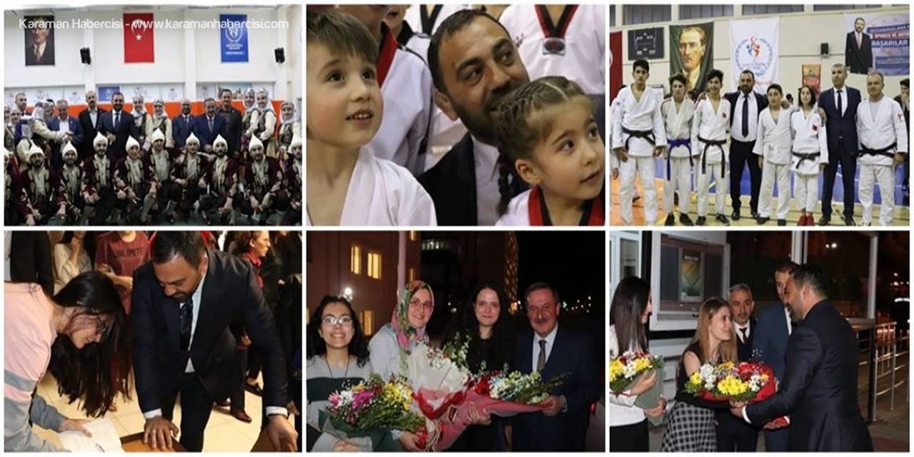 Gençlik ve Spor Bakan Yardımcısı ile Kredi ve Yurtlar Kurumu Genel Müdüründen Karaman'a Ziyaret