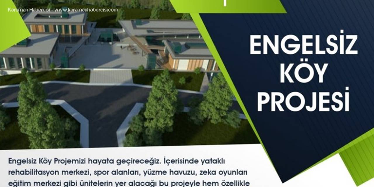 """MHP Belediye Başkan Adayı Savaş Kalaycı'dan """"Engelsiz Şehir"""" Projesi"""