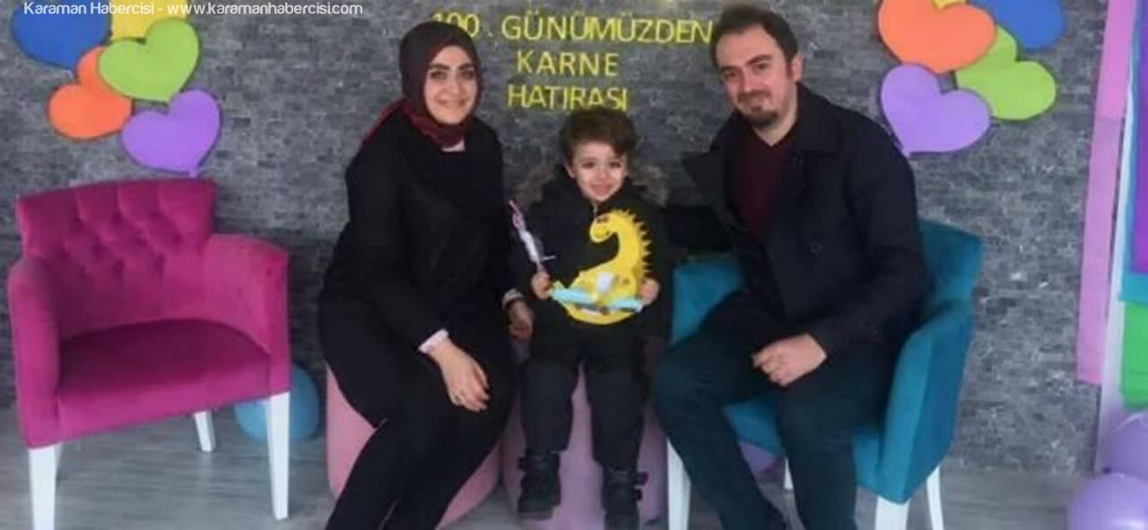 Karaman Osman Avcıoğlu'nda Miniklerin Karne Heyecanı