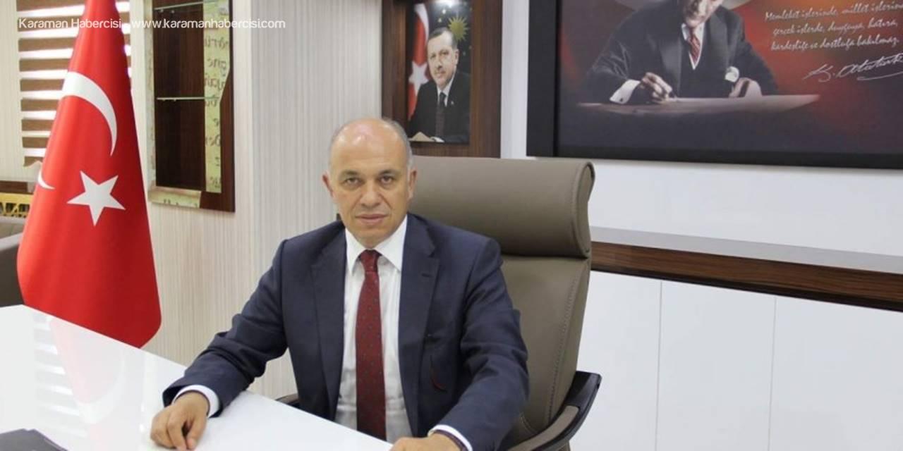 Karaman Belediyesi Ertuğrul Çalışkan'dan Mesaj