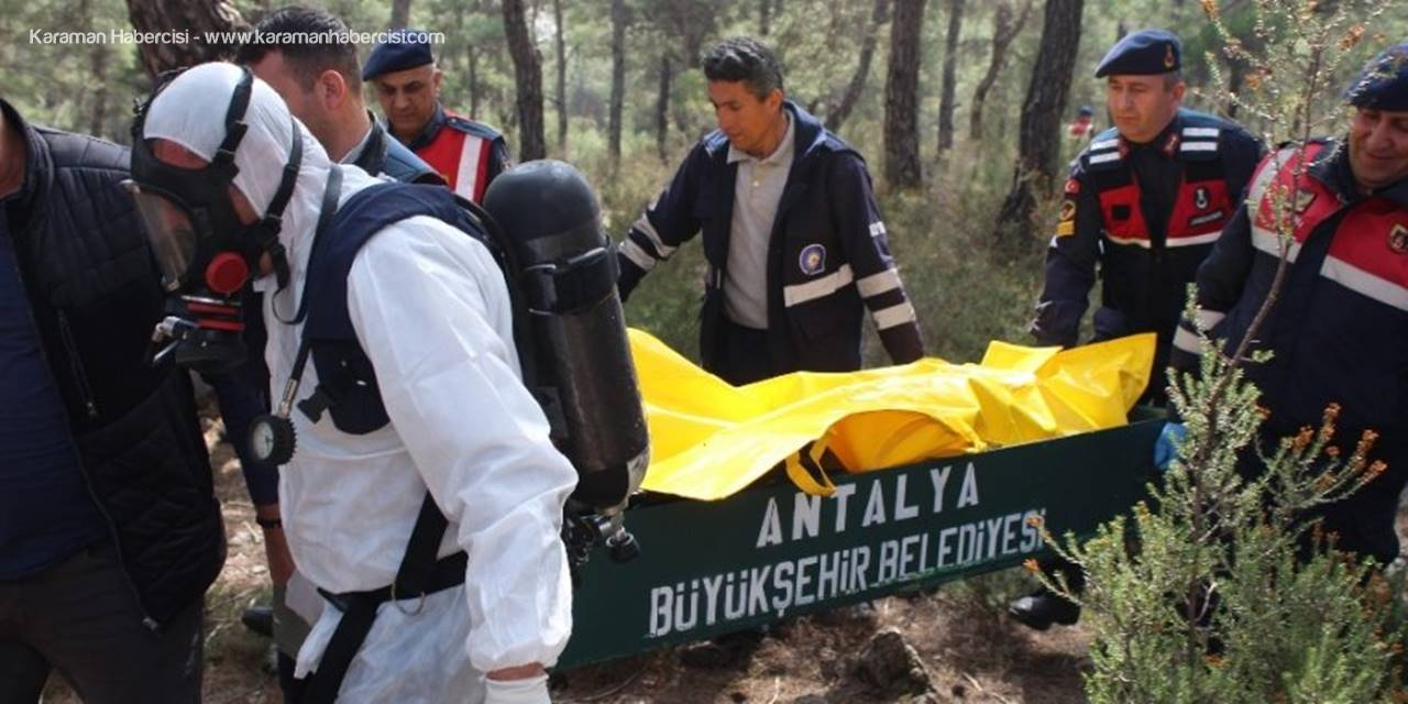 Antalya'da 9 Parça Halinde Ceset Bulundu