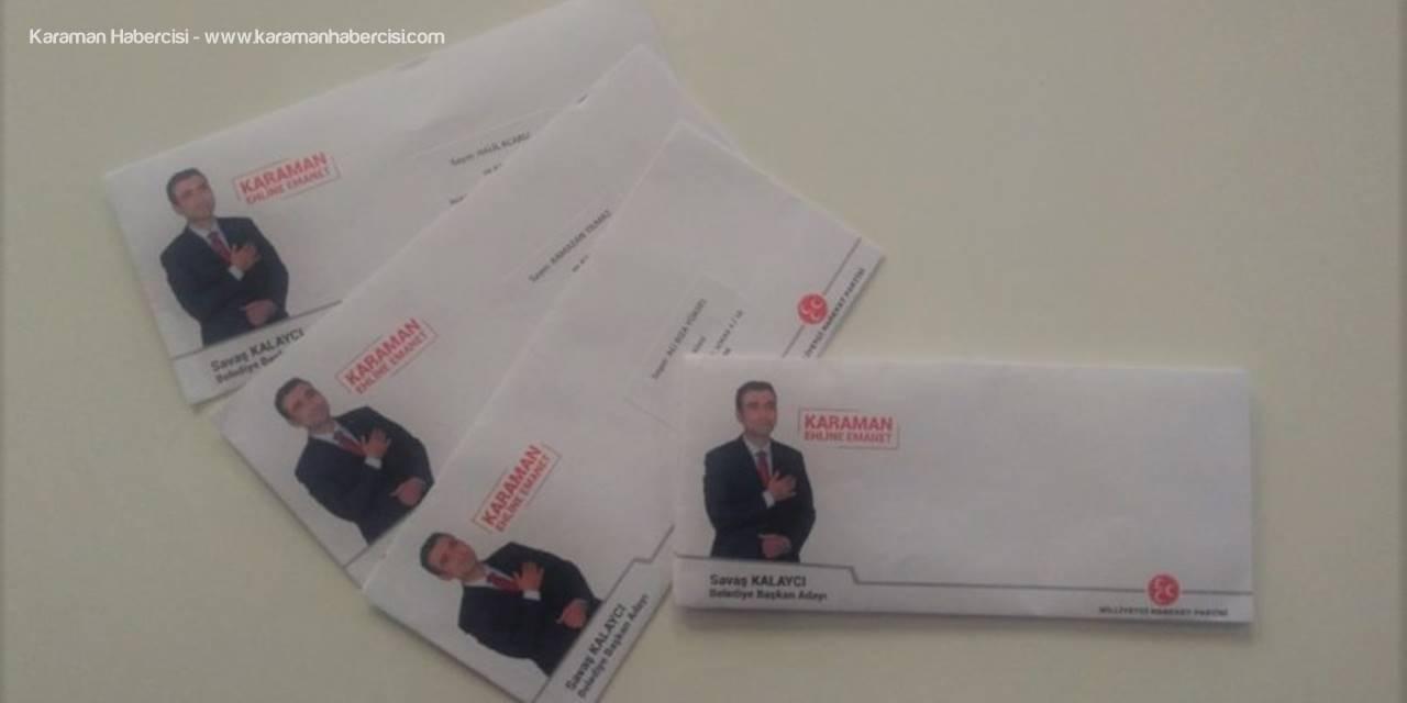 MHP Belediye Başkan Adayı Savaş Kalaycı'dan Hemşehrilerine Söz Mektubu