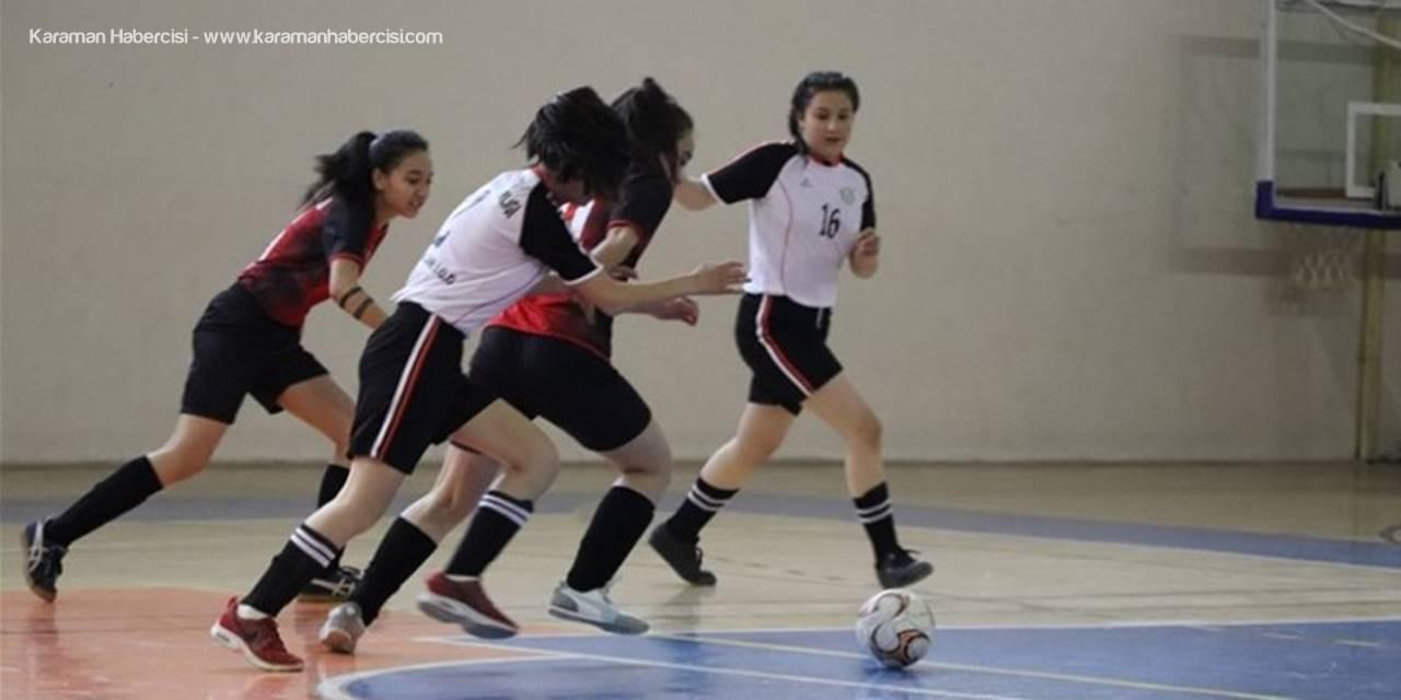 Karaman Okullar Arası Futsal Müsabakaları Sona Erdi