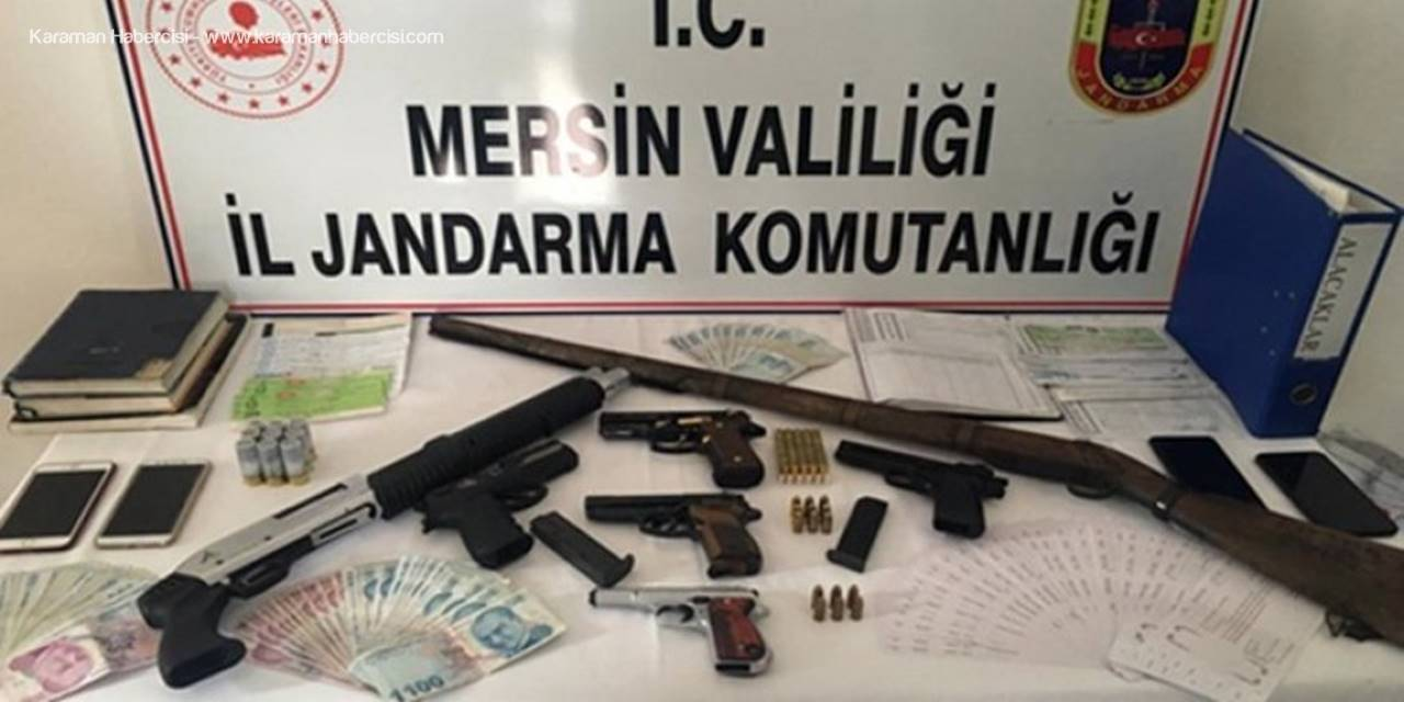 Mersin ve Antalya'da Tefecilik Operasyonu: 7 Gözaltı