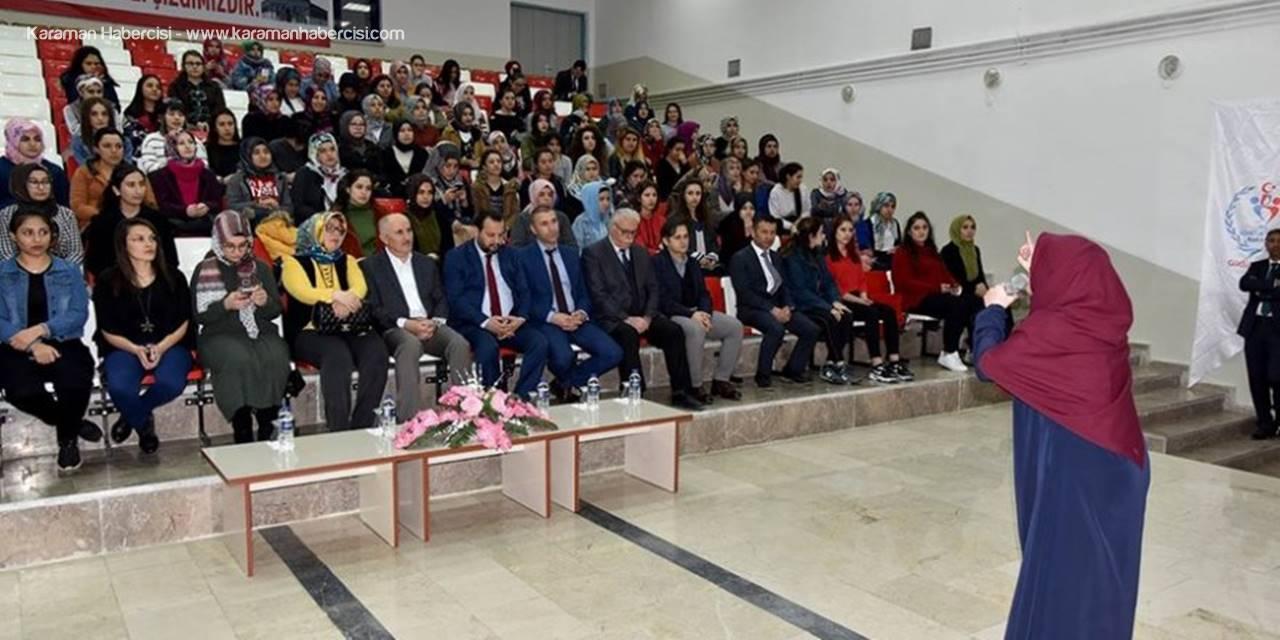 """Karaman'da Yurtlar Arası """"İstiklal Marşı'nı Güzel Okuma"""" Yarışması"""