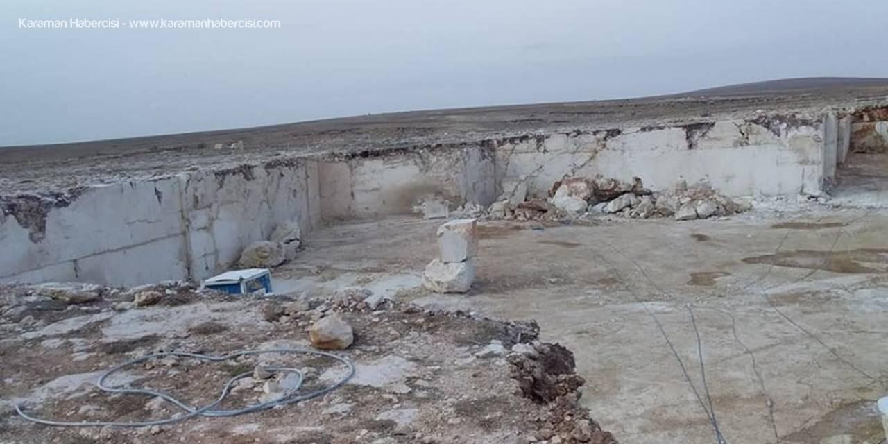 Karaman'da İş Kazası: 1 Ölü