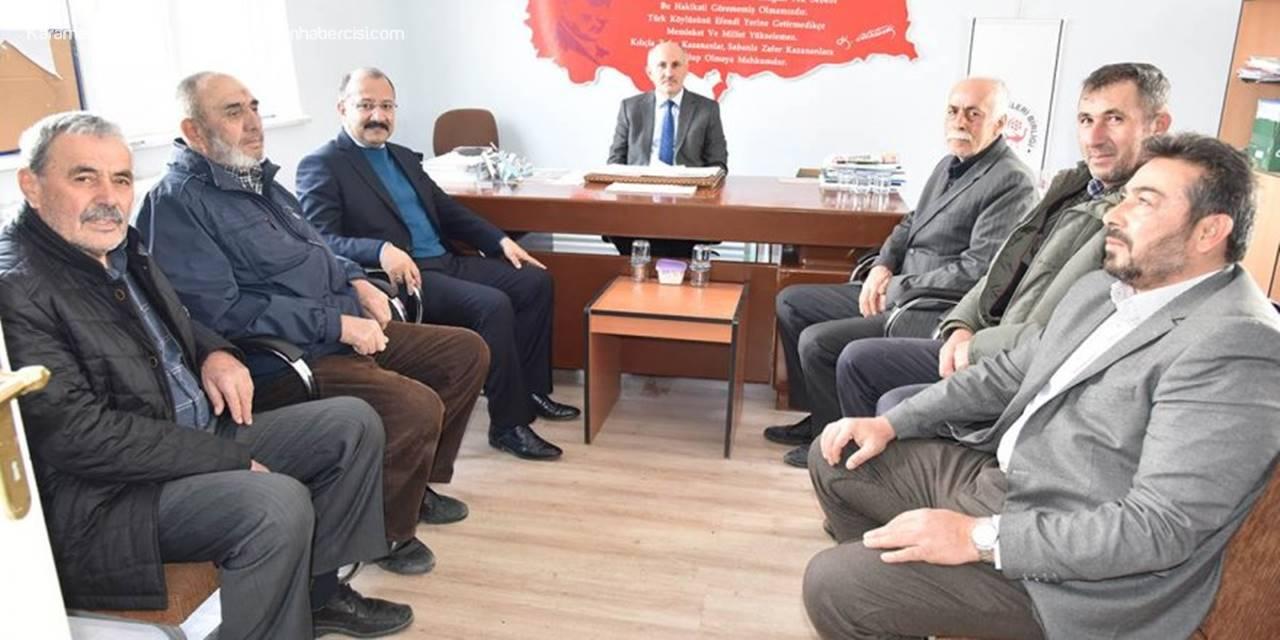 Karaman Valisi Fahri Meral'den Elma Üreticileri Birliğine Ziyaret