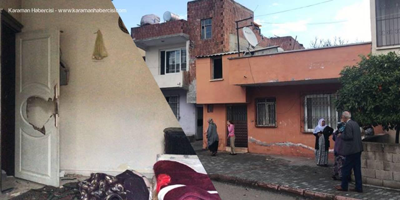 Mersin'de Çocuklarının Kapısını Kitledi, Karısını Tahra İle Öldürdü