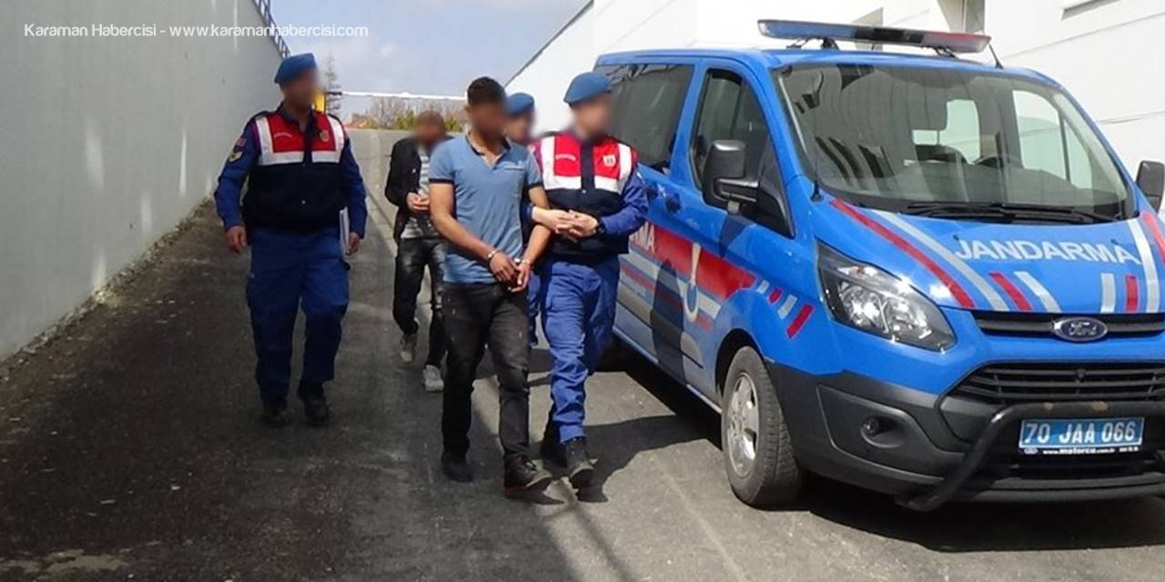 Karaman'da Kablo Hırsızlığı:2 Tutuklama