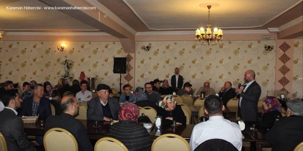 AK Parti Belediye Başkan Adayı Sami Şahin Şehit Aileleri  Bir Arada