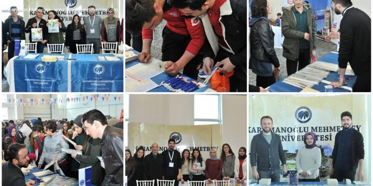 KMÜ Karaman Üniversite Tanıtım Fuarında Yerini Aldı