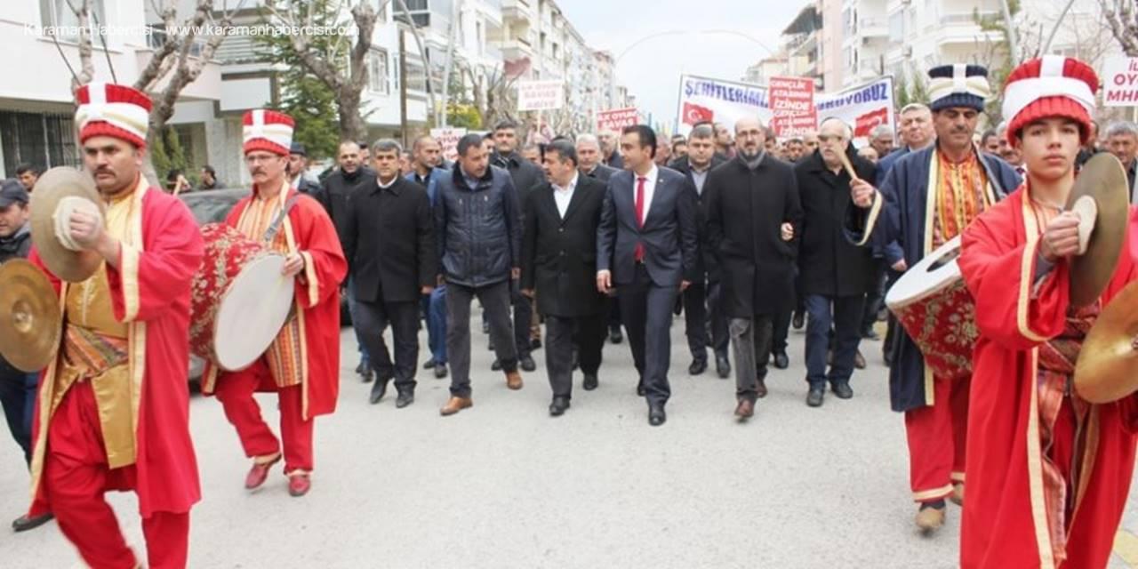 Karaman'da Zafer Yürüyüşü