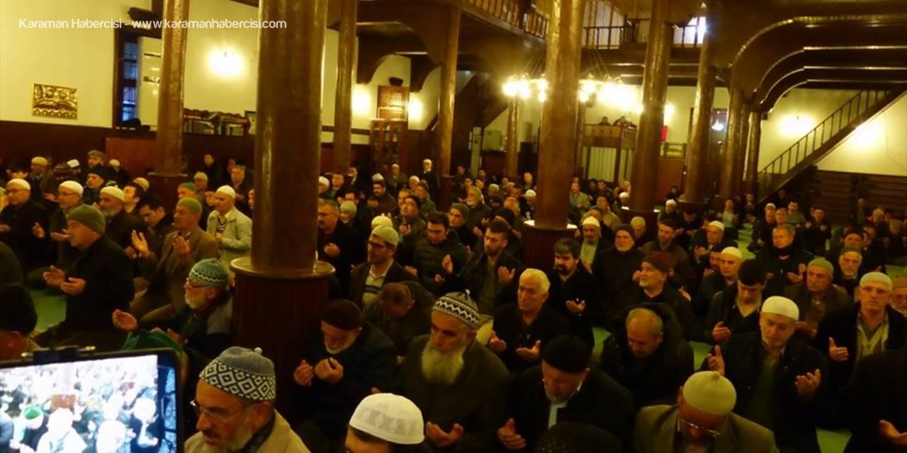 Konya'da Çanakkale Şehitleri İçin Hatim Duası
