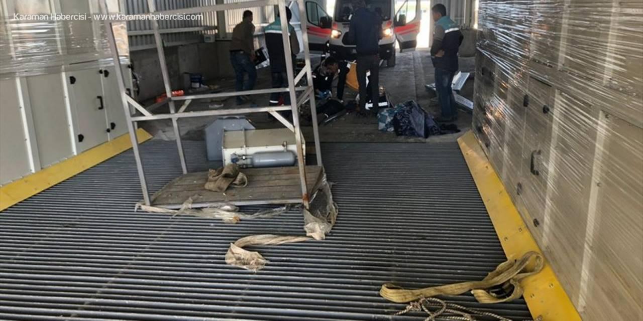 Konya'da Silodan Düşen İşçi Hayatını Kaybetti