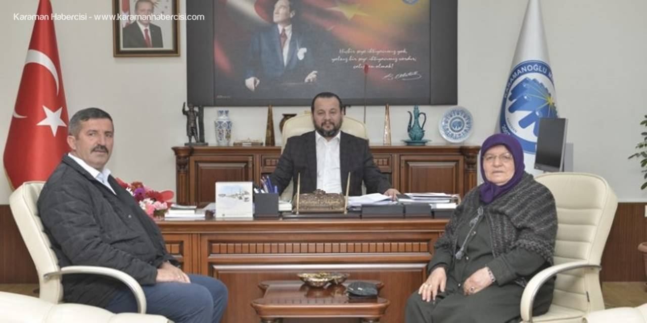 KMÜ Rektörü Mehmet Akgül Şehit Ailesini Ağırladı