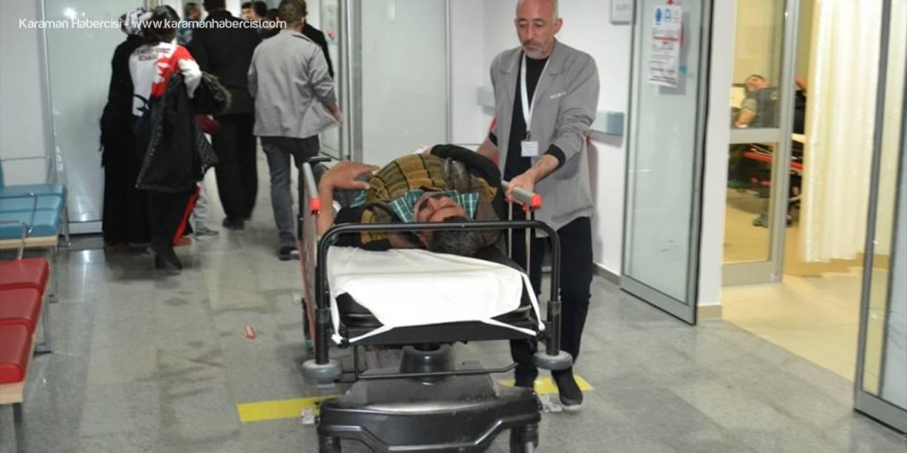 Aksaray'da Akraba Kavgasında Silahlar Konuştu