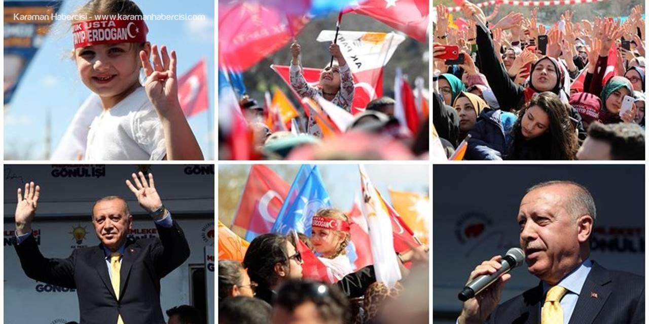 Cumhurbaşkanı Recep Tayyip Erdoğan'ın Konya Mesaisi