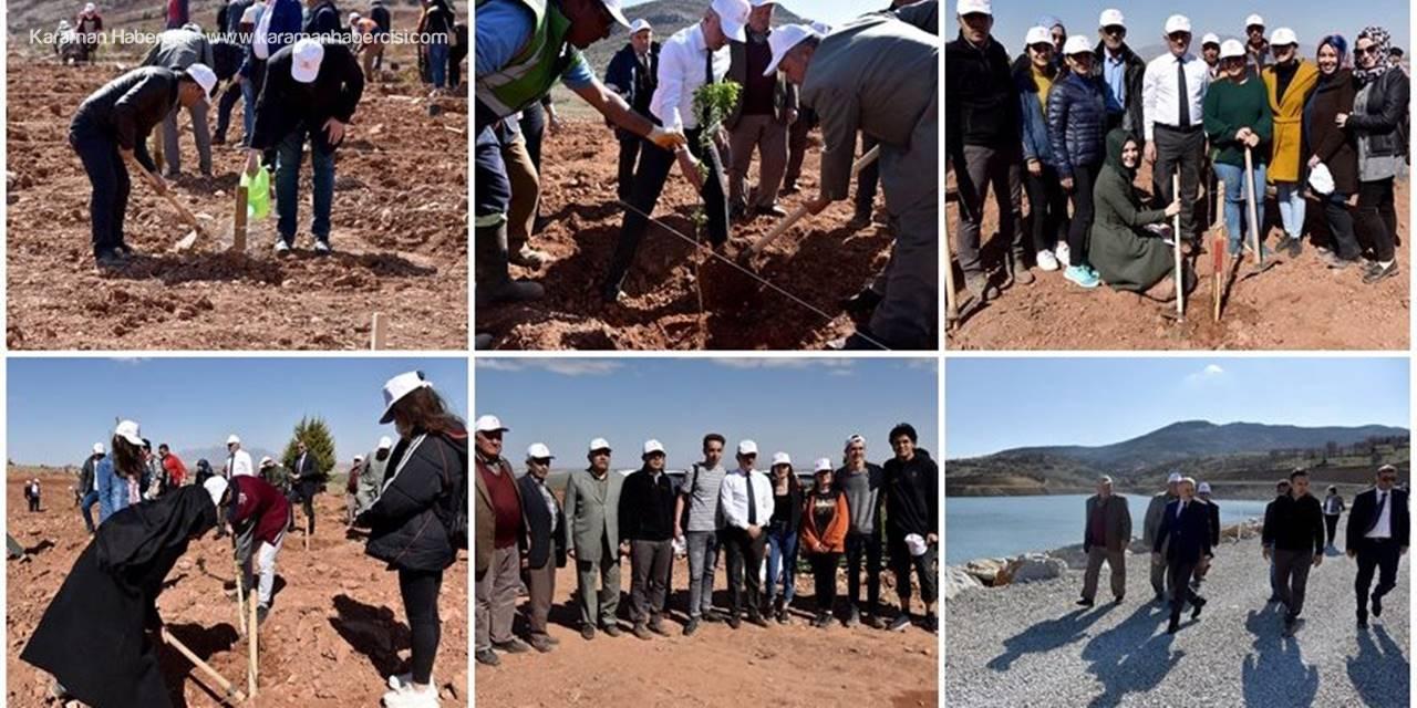 Karaman'da 30 Hektar Arazi Ağaçlandırılıyor