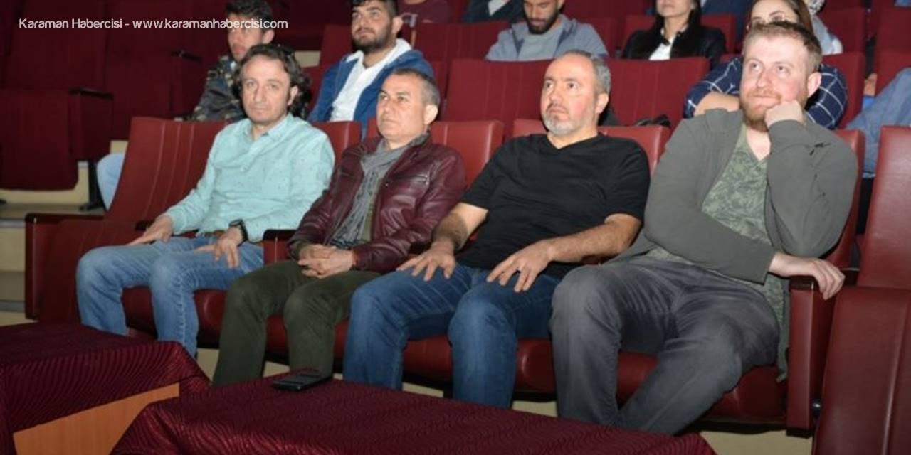 """KMÜ'de """"Tenten"""" Çizgi Filmi Ele Alındı"""