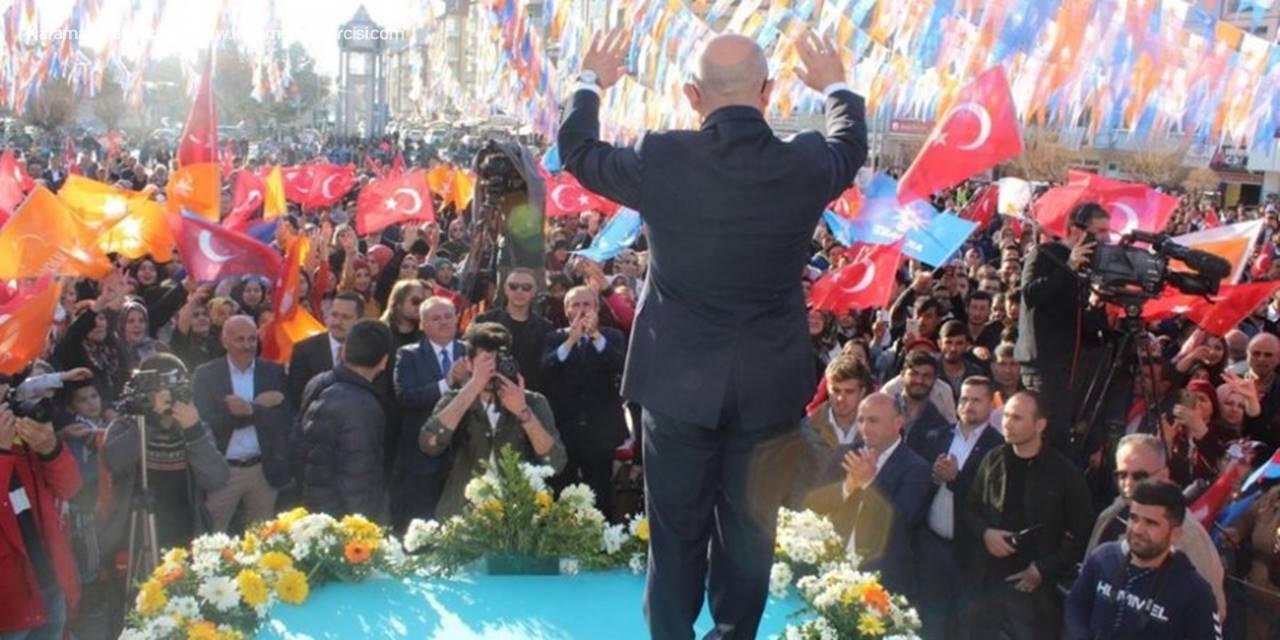 AK Parti Belediye Başkan Adayı Sami Şahin'in Karaman Sevdası Gönüllerde Yankı Buldu