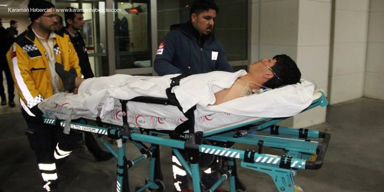 Karaman'da Bıçaklanan Afganistanlı Genç Ağır Yaralandı