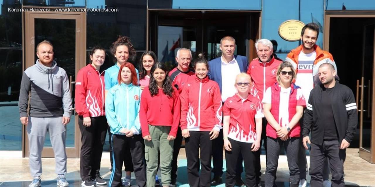 Görme Engelliler Judo Milli Takım Kampı Karaman'da Devam Ediyor