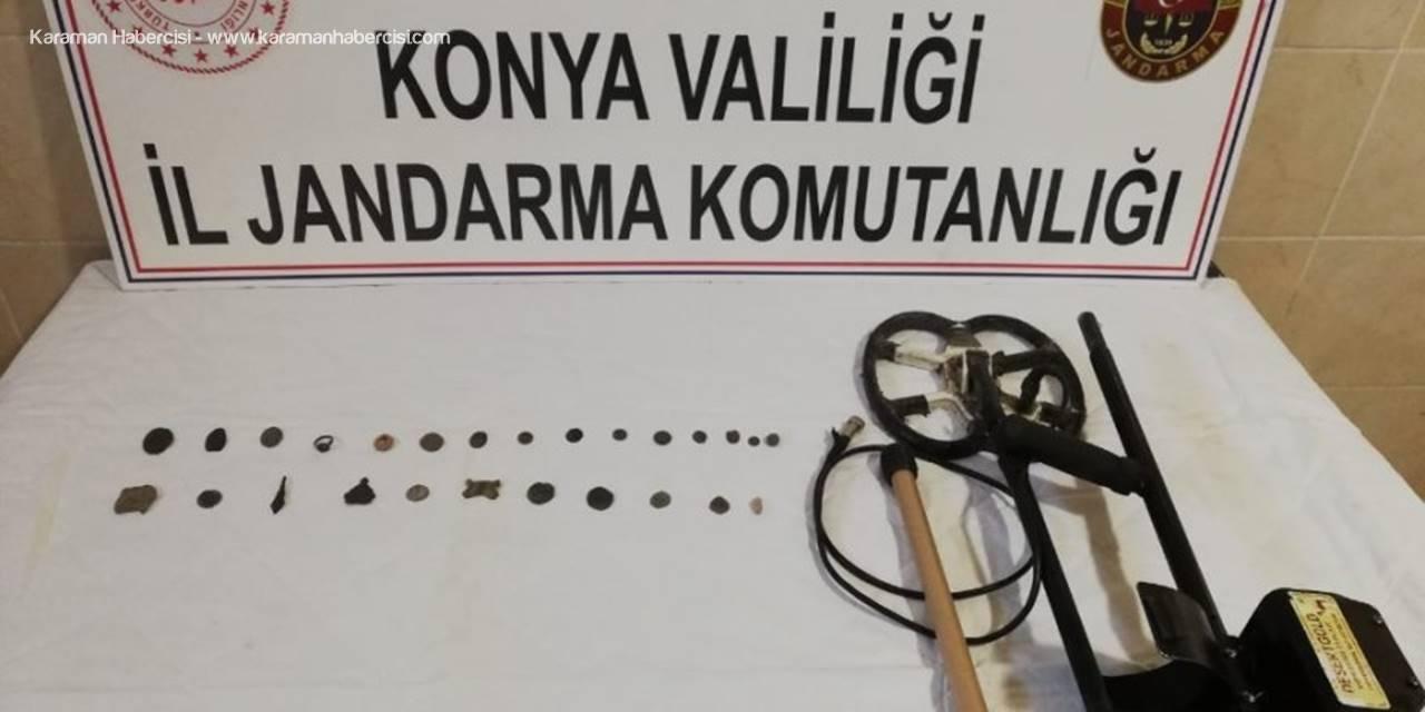 Konya'da Çiftçinin Evinden Tarihi Eser Çıktı