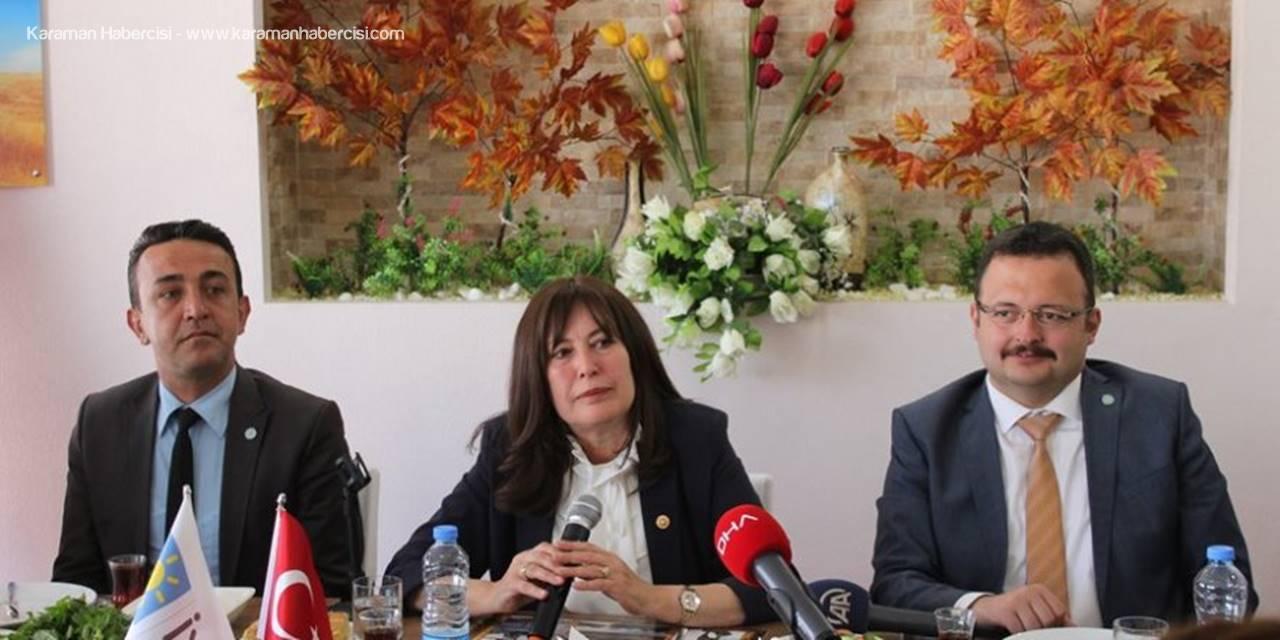 İYİ Parti Genel Başkan Yardımcısı Şenol Bal Karaman'da