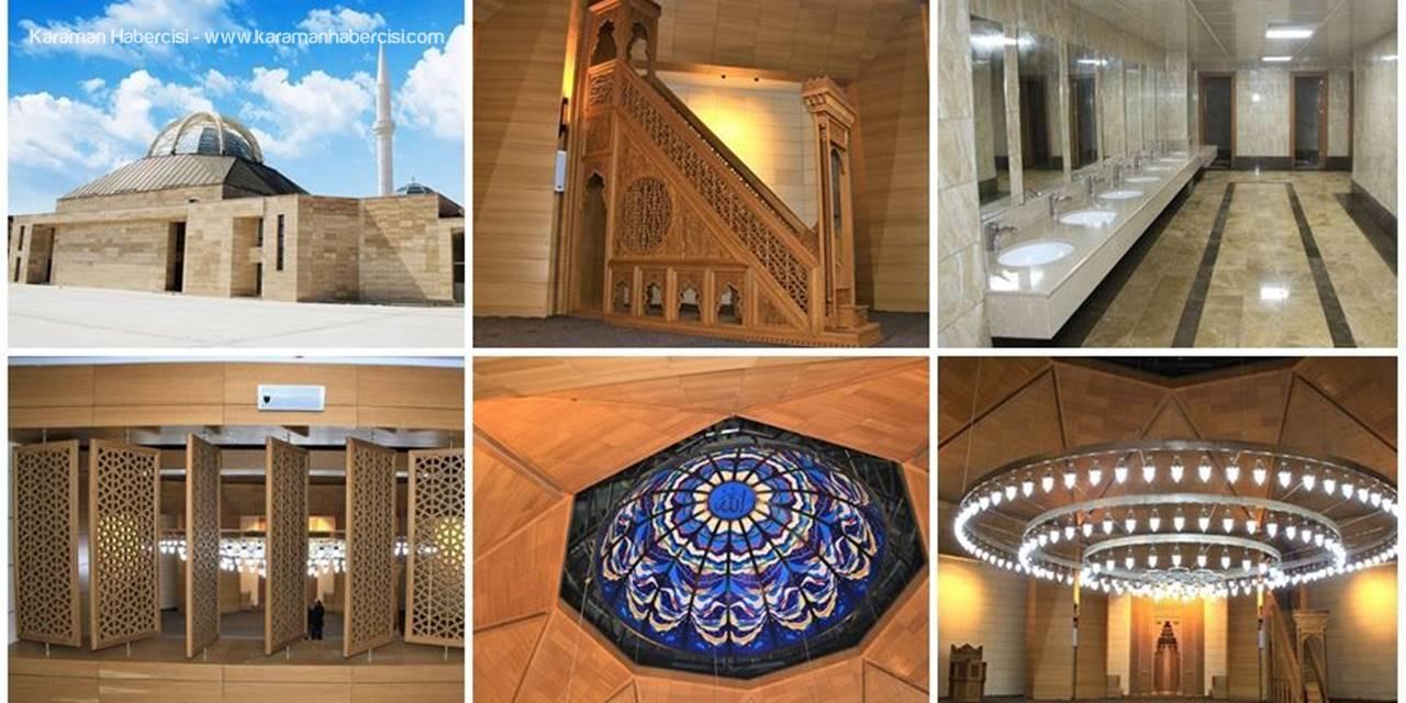 Karaman'da Yesevi Cami İbadete Açılıyor