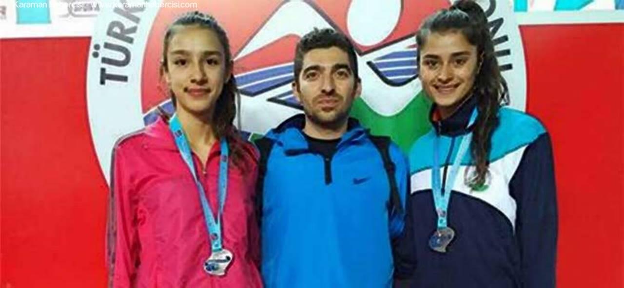 Karaman'lı Atletler Şampiyonada İkinci Oldular