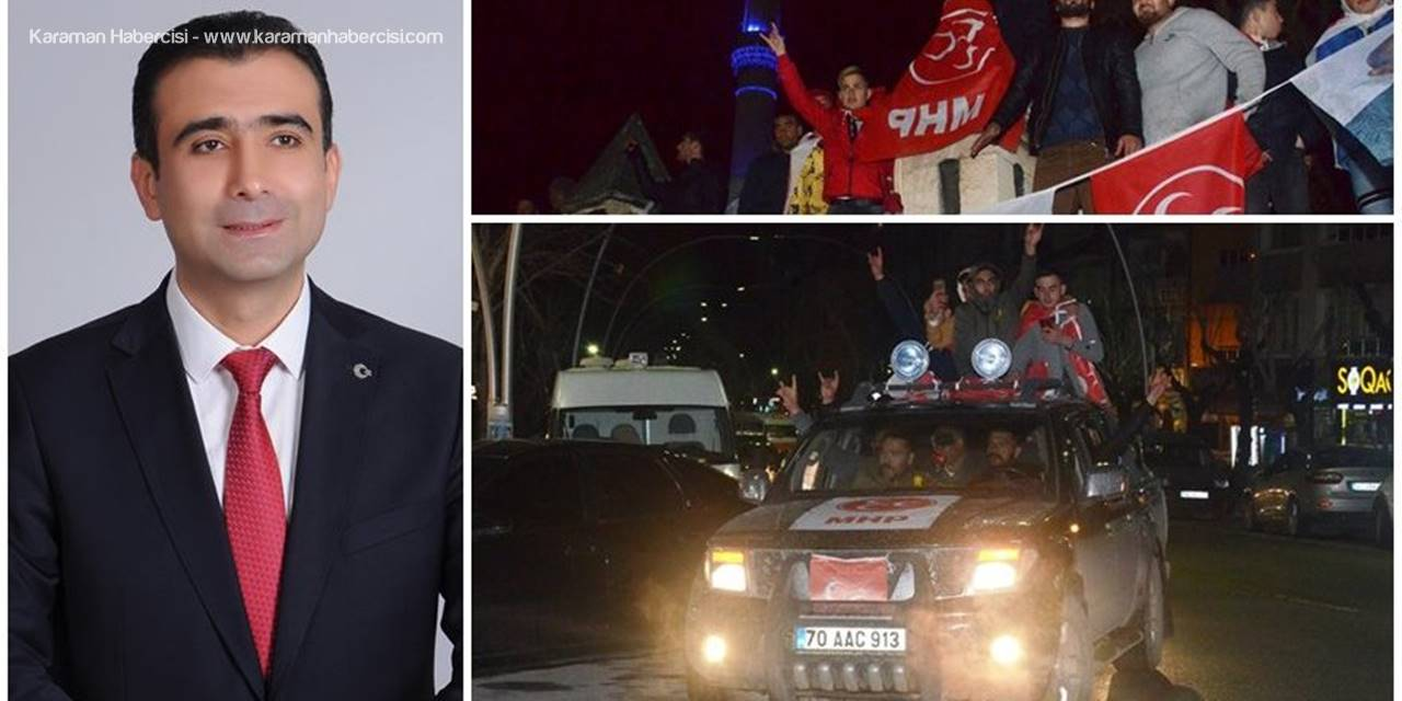MHP Adayı Savaş Kalaycı Kazandı Partililer Sonuçlarını Kutladı