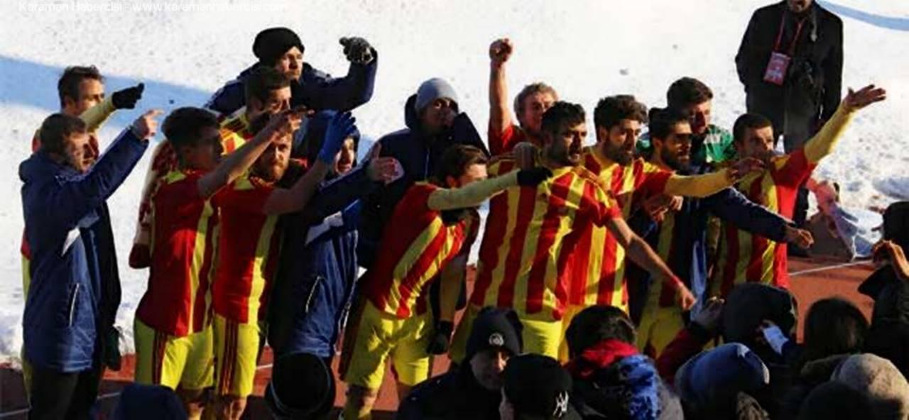 Karaman Belediye Spor Mersin Büyükşehir Belediye'yi Farklı Yendi