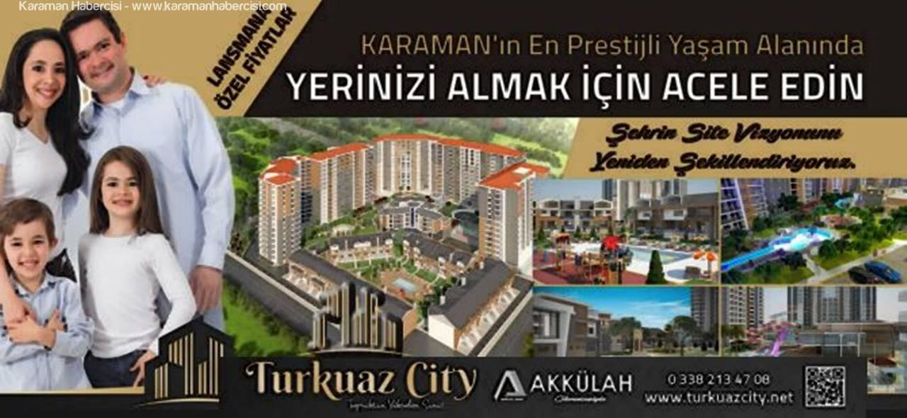 Karaman'da Beklen Proje Satışa Çıktı