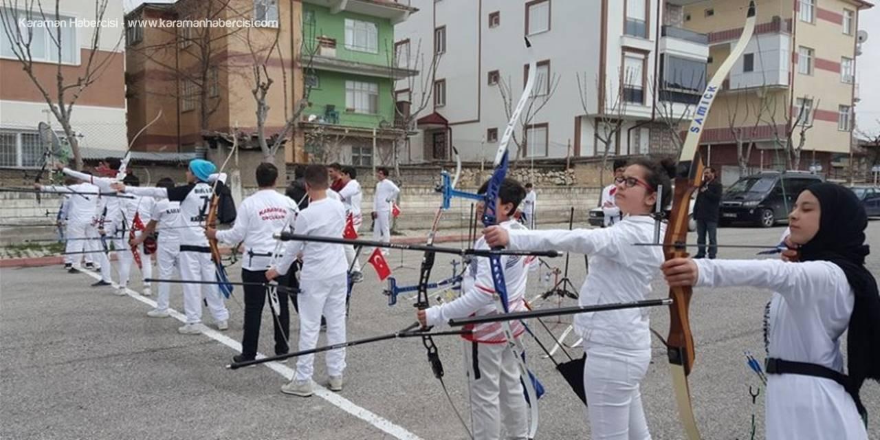 Karaman'da Okçuluk Müsabakaları Sona Erdi