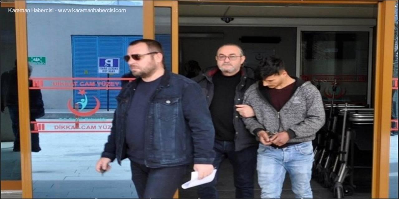 Konya'da Çaldıkları Motosikleti Satmak İsterken Yakalandılar