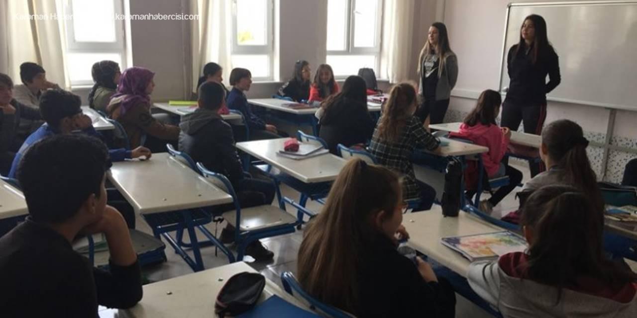 KMÜ Besyo Öğrencileri Minik Öğrencilerle Buluştu