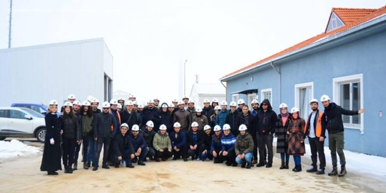 KMÜ Öğrencilerinden Elektrik Santraline Teknik Gezi Düzenlendi